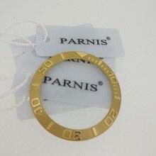 38 мм Керамическая рамка вставка для 40 мм часов, Oiginal 40 мм Parnis Керамическая рамка вставки часы