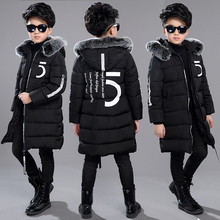 12 Childrens Clothing 13 Boys 14 Winter Clothing 15 Jacket 2020 New Thick Cotton Thickening 10 Years Old Children  30 Degrees
