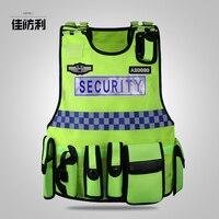 Индивидуальные безопасности светоотражающий жилет, патруль оборудования поставок безопасности, ночь люминесцентные Рабочая одежда