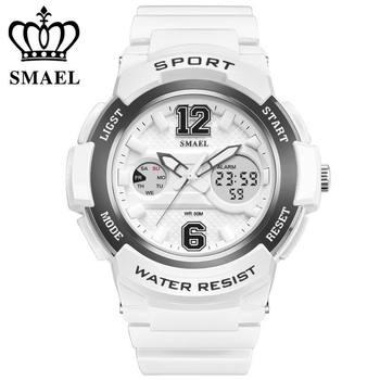 SMAEL Quartz-watch Fashion Men Casual Watches Quartz Watch Women Waterproof Jelly Female Clock Hours Ladies