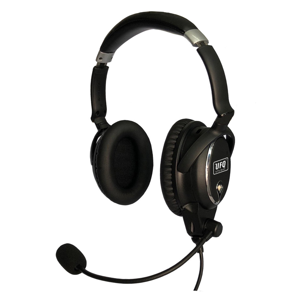 New UFQ A7 ANR aviation headset SMALL Boss A 20 the same ANR level function BUT