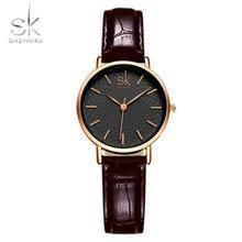 High Quality Automatic Eatch Leather Belt Ladies Waterproof Wrist Watch Luxury F