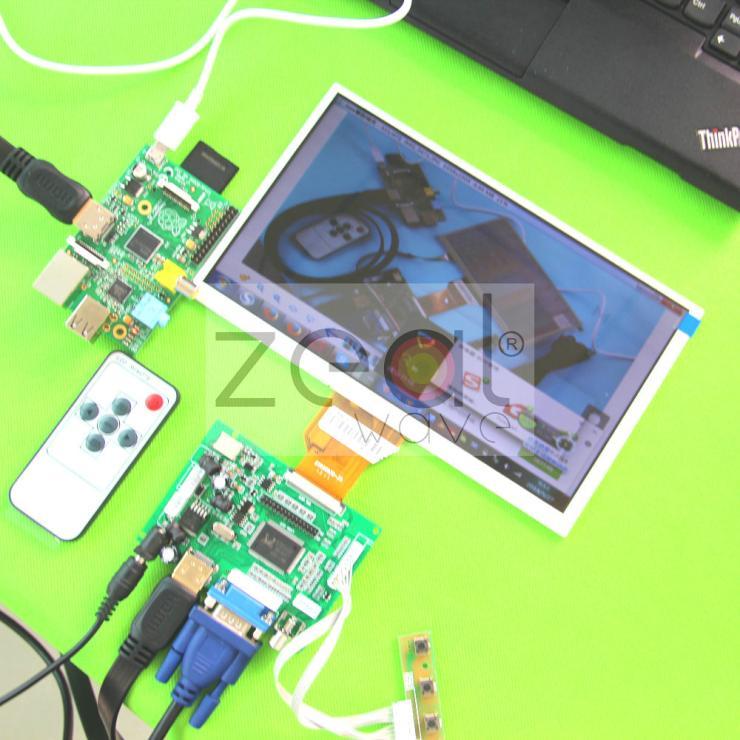 ФОТО 50pin HDMI VGA+2AV+Reversing+Remote Driver Board + 9inch AT090TN10 800x480 LCD Display
