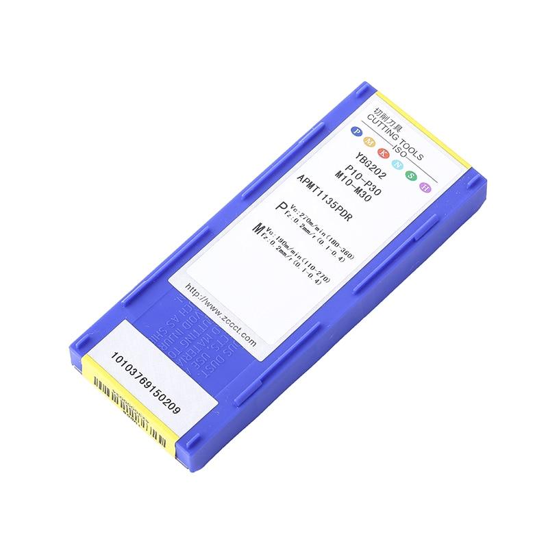 Tasuta kohaletoimetamine ZCC APMT1135PDR YBG202 (10 tk / partii) - Tööpingid ja tarvikud - Foto 6