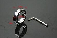 ZENBALA 304 Stainless Steel Penis Enhancer Metal Ball Stretcher Weight 180g