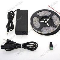 Blanc froid/Blanc Chaud/Rouge/Bleu/Vert LED Bande 5630 5 m, 60 leds/m LED bande 5630 Étanche IP65 LED Bande 5630SMD + 12 V 6A Adaptateur