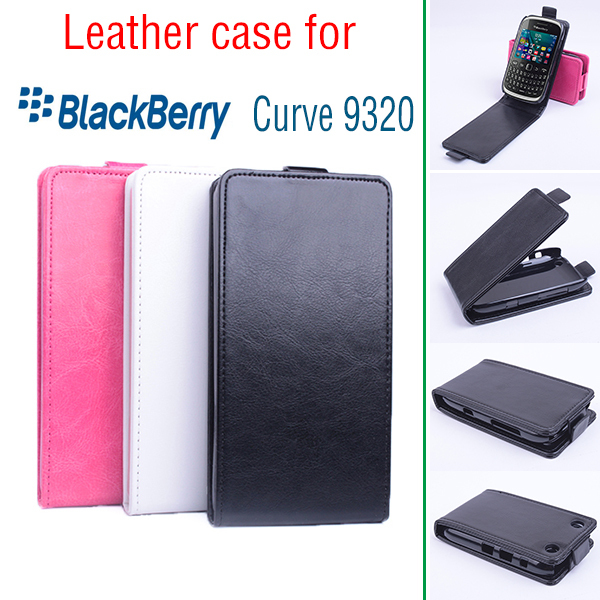 For Blackberry Curve 9320 Business Shockproof Protecitve Cover Case For Blackberry 9320 Flip Case Cover 9320 Leather Book Case