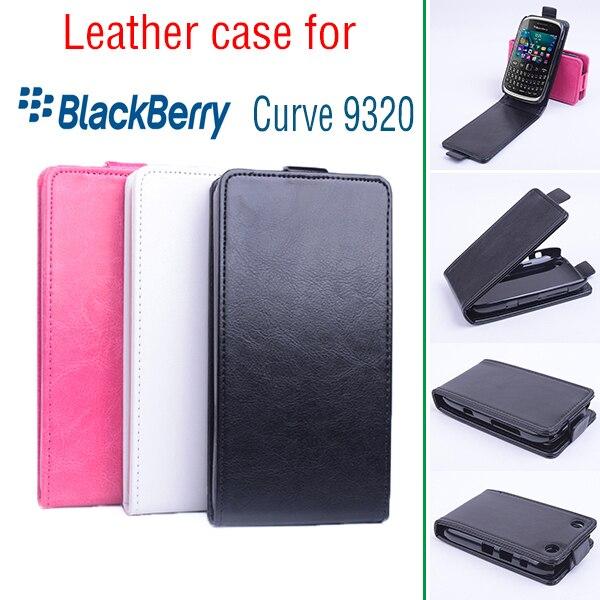 Voor blackberry curve 9320 business shockproof protecitve cover case voor blackberry 9320 flip case cover 9320 lederen boek case
