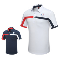 New Men Tshirt 2018 Golf Clothing Short Sleeve T Shirt Summer Breathable Training Sport Polo Shirt High Quality