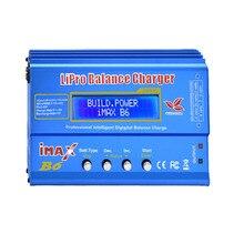 IMAX B6 AC разрядник зарядное устройство Батарея баланс Зарядное устройство (80 Вт) B6AC LiPo NiMH LiPo зарядки choosabl XT60 T подключите адаптер доска 2-6 S