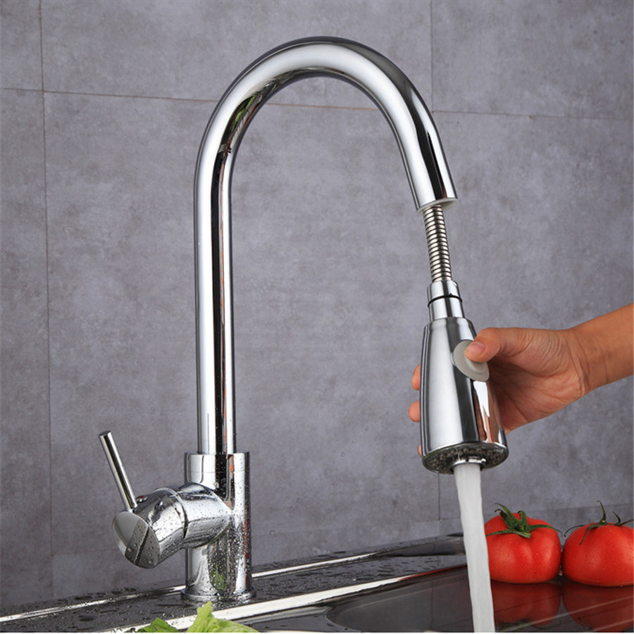 orb black Brass kitchen faucet Single Handle Pot Filler Faucet Swing Spout Wall Mount cold bathroom