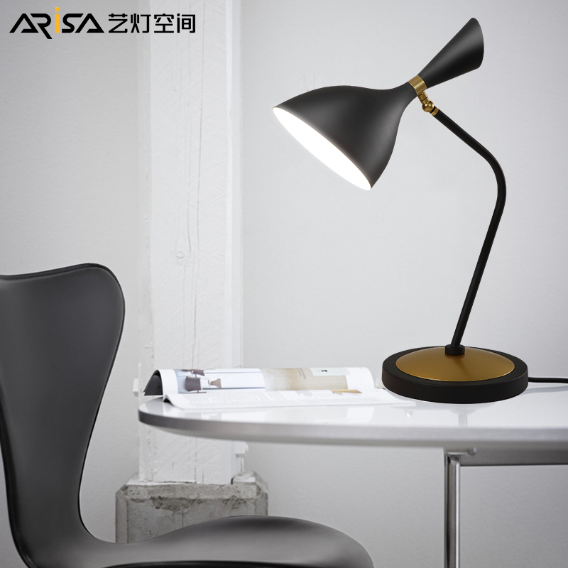 LED Nordic table lamp Modern Fixture bedroom lamp bed front desk lamps protection eye lamps table Lighting