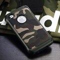 Padrão de Camuflagem do exército do Camo tampa traseira de Plástico Rígido TPU Armadura Anti-batida de proteção capas para iphone 4 4s 5 5s se 6 6 s 7 7 além de