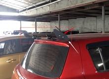 Fits   Hatchback Auto Car Rear Spoiler Wings Universal  Black Aluminum GT  Racing Spoiler Wing