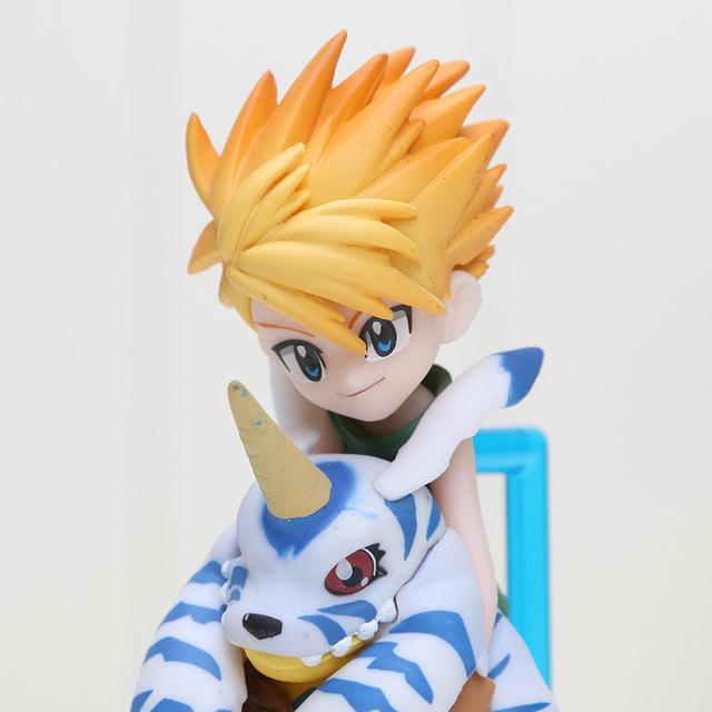 Digimon Adventure Ishida Yamato and Gabumon Action Figure