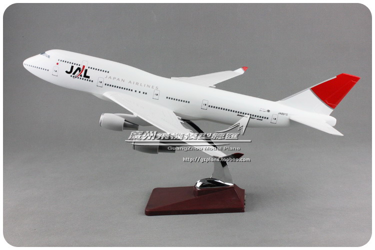 цена на 47cm Boeing 747 Japan Airlines Airplane Model JAL Air Japan B747-400 Airbus Airways Resin Aircraft Model Holiday Gift Collection