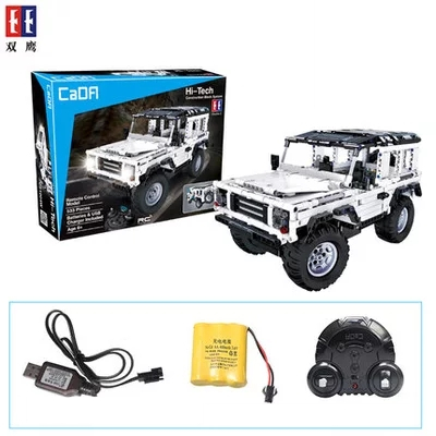 Technic Series Off-road vehicle Model Building Kits Block Educational Bricks Compatible Toys Gift LEPIN 23011 RC Car 23003 enlightment 1120 city series recreation vehicle minifigure building block 380pcs bricks toys best toys compatible with legoe