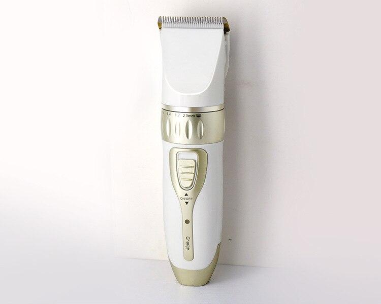 Profissional aparador de cabelo digital ajustável lâmina