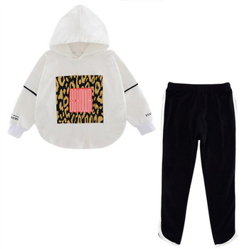 Boutique kids clothing Autumn spring girls set long sleeve tops +pants 2pieces tracksuit Children clothes outfit tracksuit 2