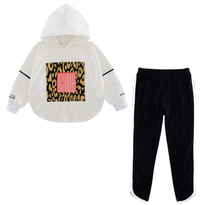 Boutique kids clothing Autumn spring girls set long sleeve tops +pants 2pieces tracksuit Children clothes outfit tracksuit