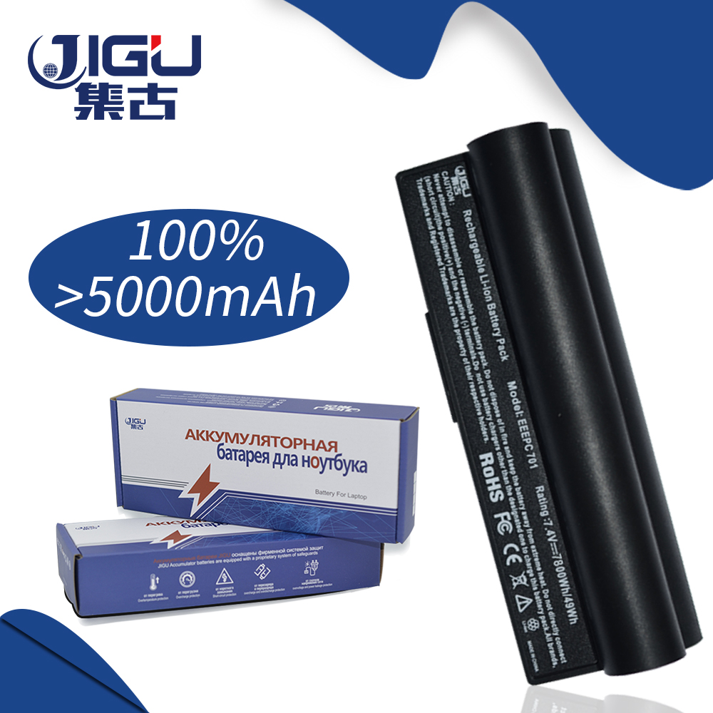 JIGU 7800Mah 6Cell Laptop Battery For Asus A22-700 A22-P701 A23-P701 P22-900 Eee PC 701 4G 8G 2G Surf 4G Surf  900 700