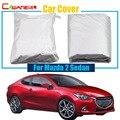 Cawanerl полное покрытие для автомобиля УФ Защита от снега и дождя Солнцезащитная Крышка для автомобиля-Стайлинг для Mazda 2 Sedan