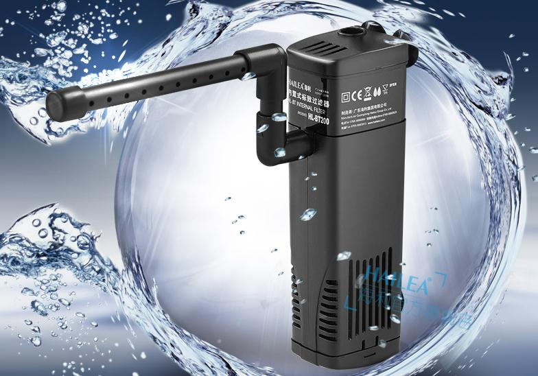 Aquarium internal filter 3in1 210gph 800l h for 50 gal for 50 gallon fish tank filter