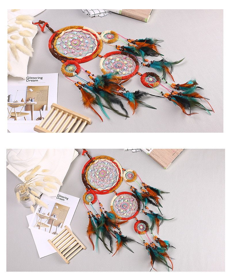 dream catchers hangingdiy kids room decoration nordic decoration home girls roomnurserykids decor dreamcatcher children room (3)
