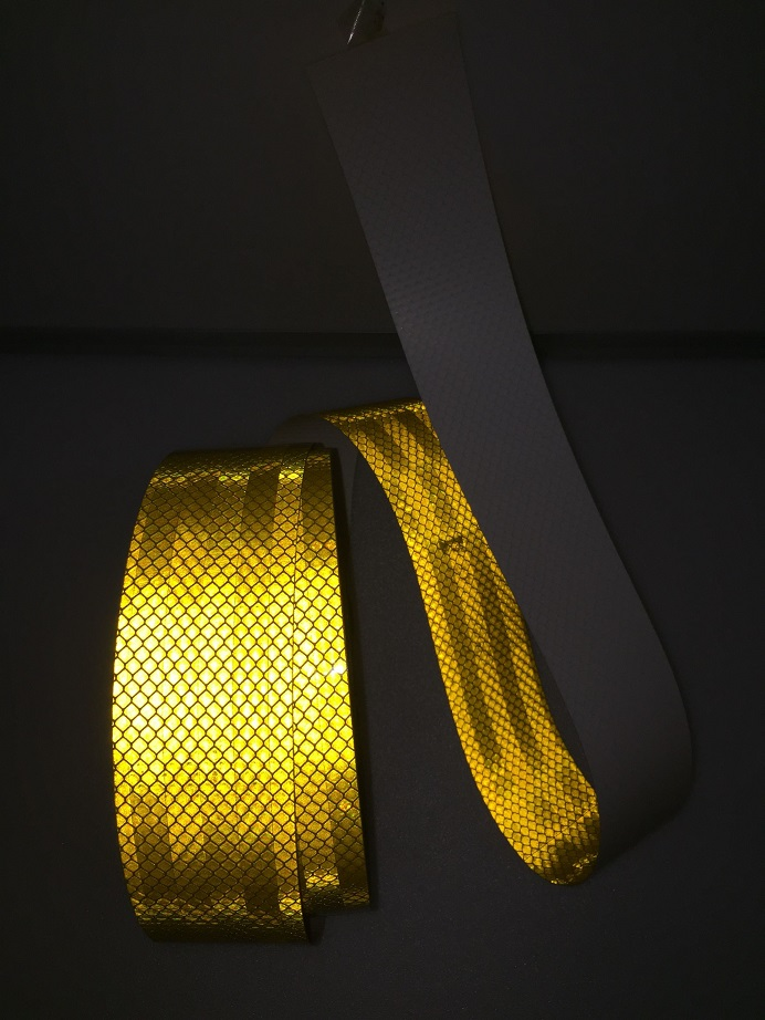 Super Grade PET Reflective Self-adhesive Tape Truck Car Motorcycle Road Traffic Reflective Warning Safety Tape