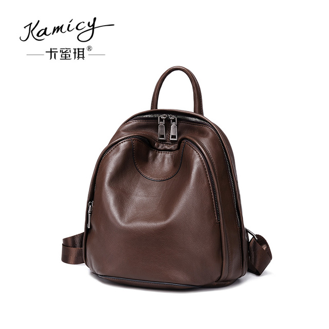 Kamicy women bag 2018 new style double shoulder
