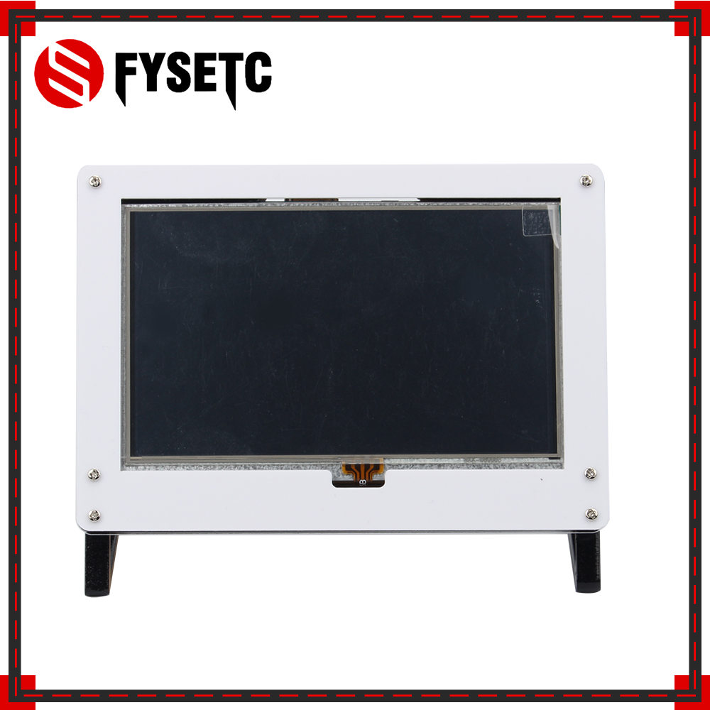 5.0 inch LCD Touch Screen Module 800 * 480 TFT Touchscreen Display Module + Acrylic Bracket Case for Raspberry Pi 3 B+ / 3 / 2 siv brand new 3 5 inch tft lcd 320 480 touch screen display module for raspberry pi 2 b b