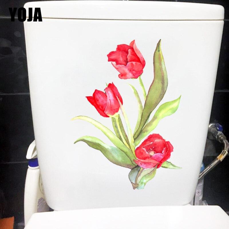 Yoja 18x24cm Watercolor Red Tulip