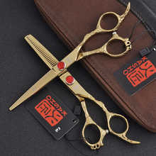Kasho Hot 6 Inch Hairdressing Scissors for Haircut Hair Cutting Shears Sets Professional Barber Kit Hairdresser Tools Salon Kit