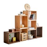 Per La Casa Display Wall Shelf Meuble Rangement Cabinet Estanteria Madera Wodden Retro Book Furniture Decoration Bookshelf Case