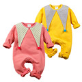 Spring/Autumn/Winter Baby Rompers Newborn Boys Girls Clothes Cotton Fleece Baby Jumpsuit Clown Style Fashion Infant Clothing