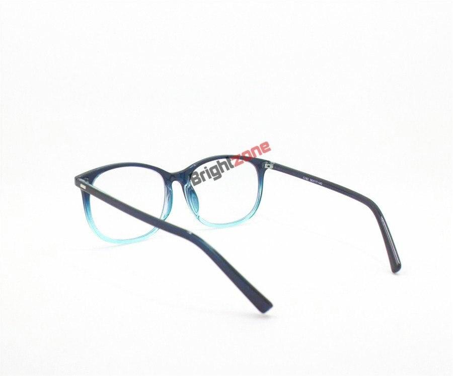 Hart Arbeitend Mode Computer Spektakel Rahmen Anti-blau-licht Brille Anti-glare Brille Rahmen Frauen Runde Transparent Linsen Gläser Bekleidung Zubehör