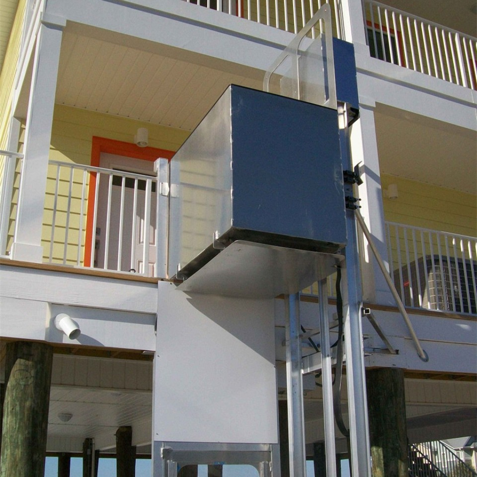 Home Lift  Electric Disabled Vertical Platform Lift Wheelchair Lift