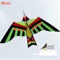 O Envio gratuito de Diversão Ao Ar Livre Esportes de Alta Qualidade 3 m Pássaro Pipa Com Alça E Linha de Energia Boa Voador