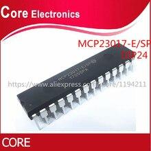 10 pces MCP23017 E/sp dip 28 MCP23017 E mcp23017 dip novo