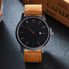 Top Brand Luxury Casual Calender Wristwatch
