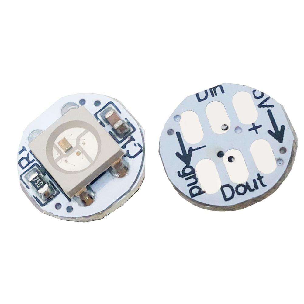 Details about  /100 unids//paquete DC5V ws2811 IC módulo de placa de circuito led PCB WS2811