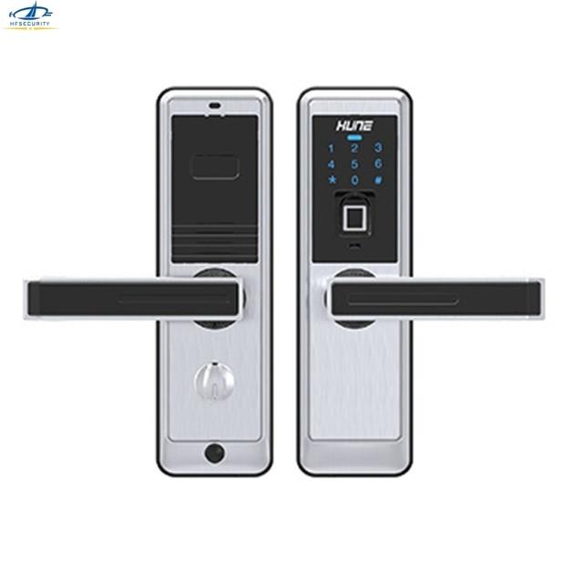 HFSECURITY Fingerprint Door Lock Electronic Locks For Doors ...