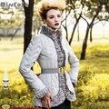 MissFoFo Womens Down Jacket RoyalCat Coats 2015 Vintage Elegant Ruffle Down Coat High Quality  Female