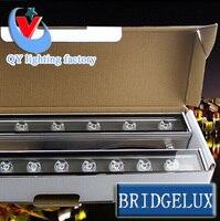 Oferta 2 lámparas de luz led de arandela 36W RGB blanco cálido DMX512 coldwhite LED lámpara de