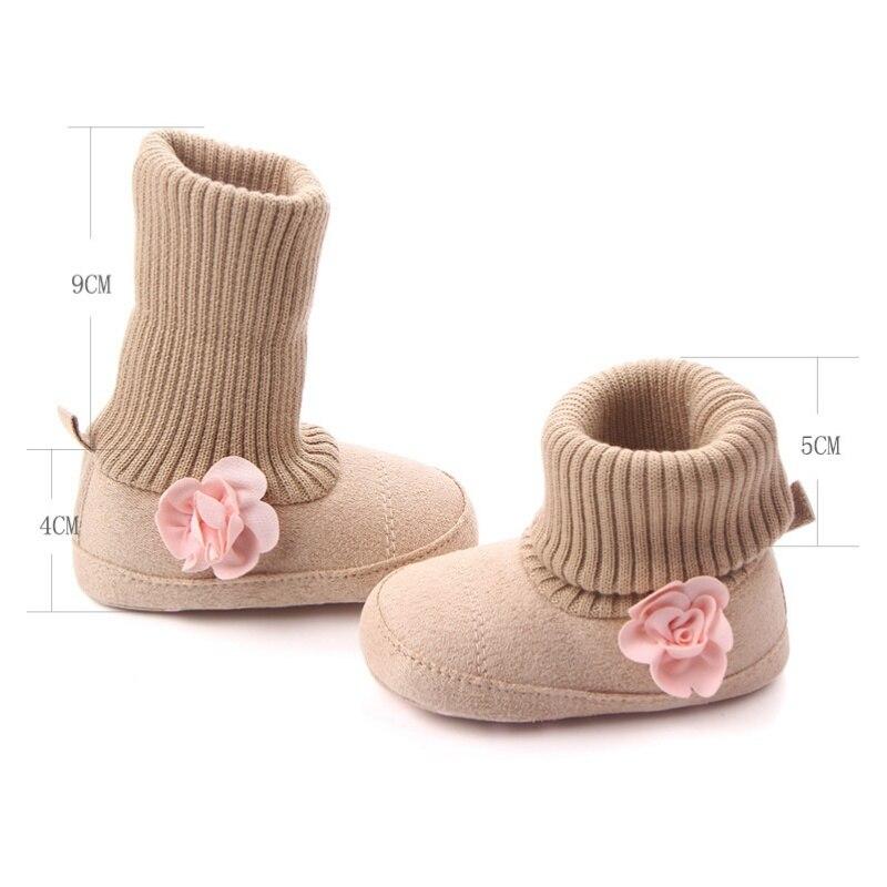 1176b8ddd Aliexpress.com   Buy Winter Warm Baby Shoes Autumn Crib Pram Bebe ...