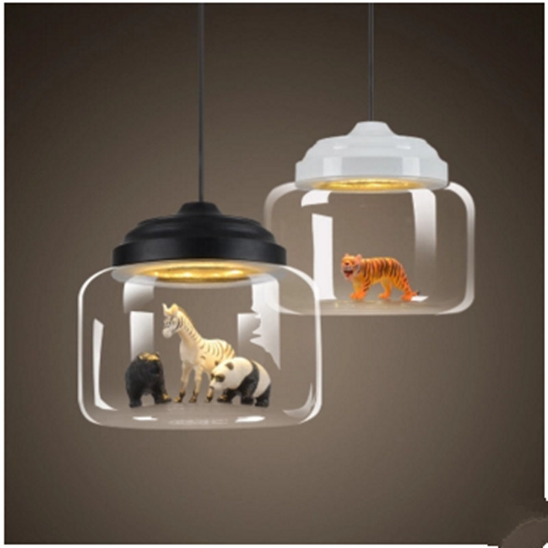 Nordic Lights Bar Restaurant Glass Pendant Light Individual Creative Cafe Kindergarten Classroom Animals Cartoon Pendant Light the $30 000 bequest and other stories