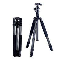 Manbily CZ 308 штатив из углеволокна большой диаметр SLR Камера professional travel micro Одиночная фотография монопод с прямоугольным креплением