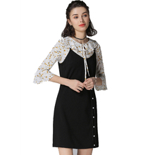 Plus Size 4XL 5XL Dress Women 2 Piece Set Top And Dress 2018 Spring Floral Print Chiffon T Shirt Vest Knitted Dress Large Size