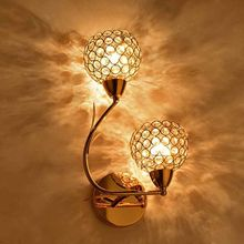 AC85-285V E27 Creative Crystal LED Wall Light Decorative Lighting Sconce Modern Lamp