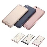Official Meizu Back Battery Cover For Redmi 4A Original Hard Plastic Phone Case For Xiaomi Redmi